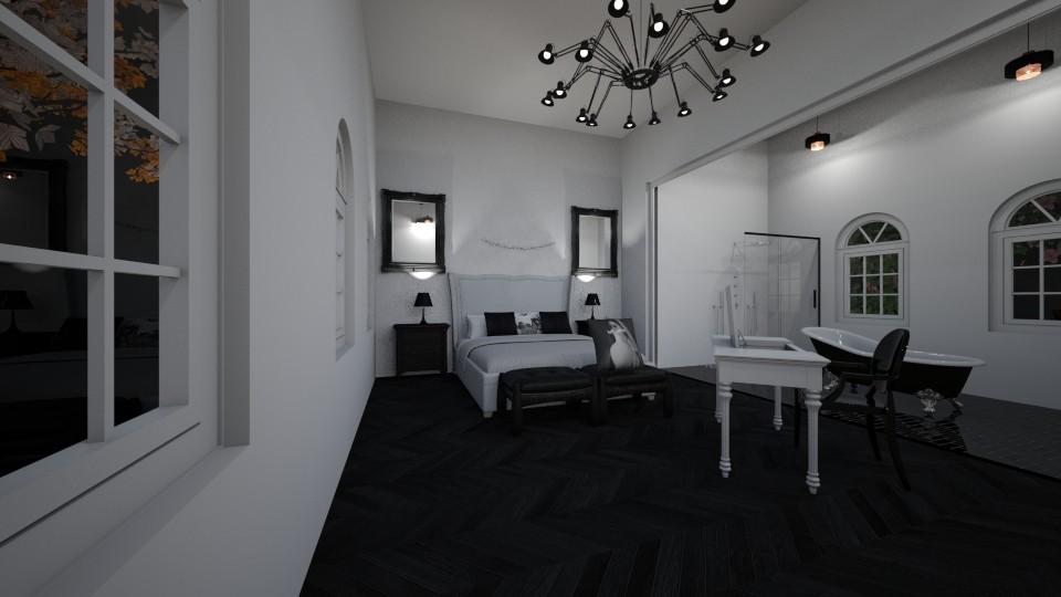 master bedroom - Bedroom - by annejadetjenl