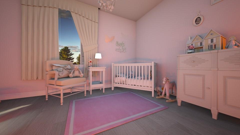 pink nursery 2 - by cuneyt oznur