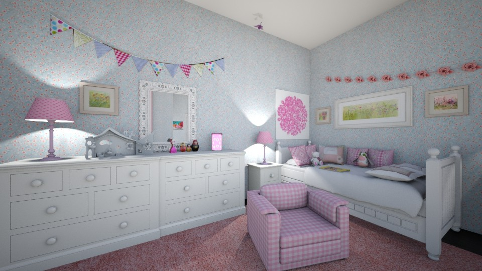 scarlett - Kids room - by hillygabe