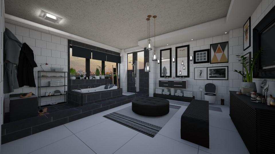 Master Bathroom - Bathroom - by JarkaK