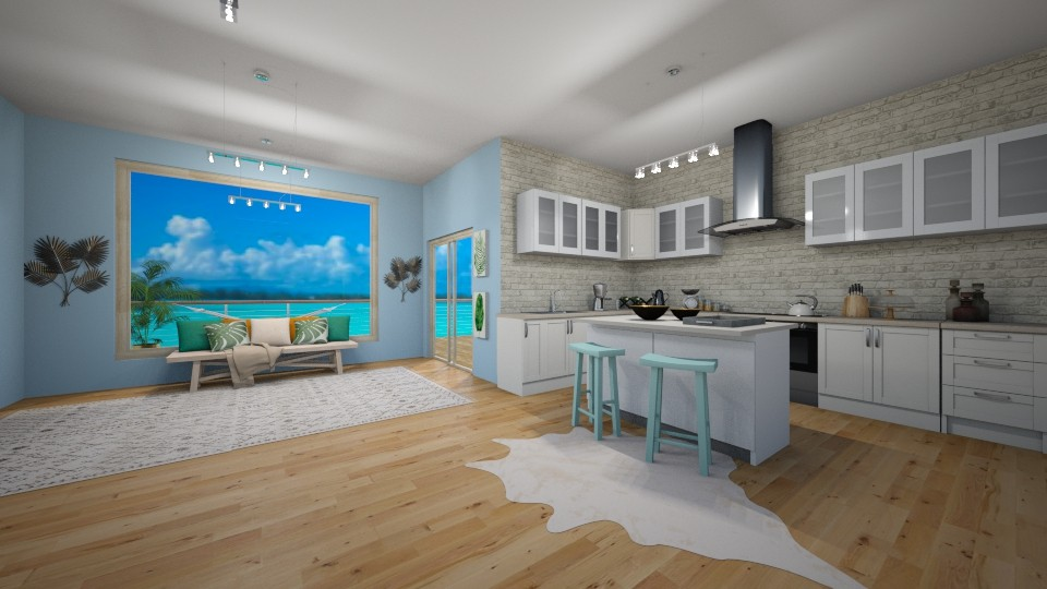 Just Beachy - Modern - Kitchen - by LeilaniD04