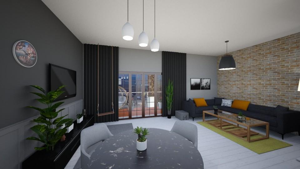 Natasha - Modern - Living room - by agnieszka_giez