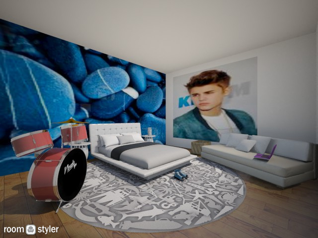 cool boy room - Classic - by nida