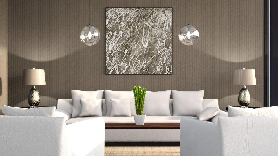 D living room  - by Dayanna Vazquez Sanchez