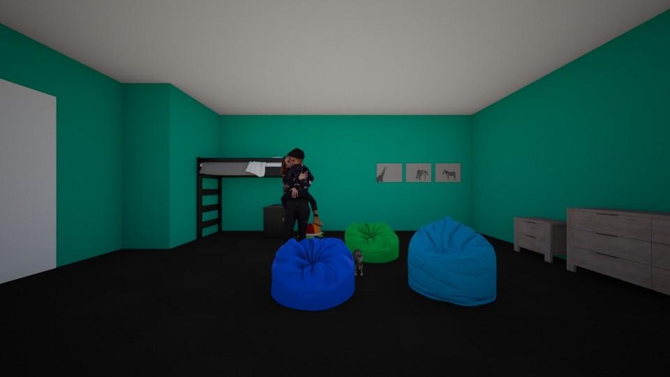 percy room - Kids room - by AntoniaSmith100