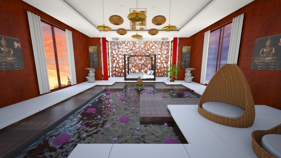 Thai Resort - Bedroom - by Agni Samil