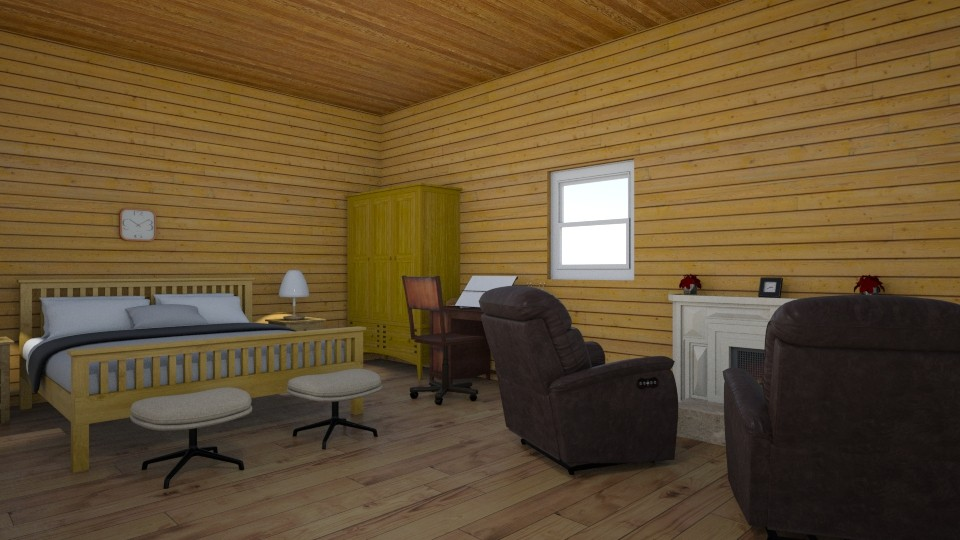 Log Fever - Classic - Bedroom - by Jackson Moore