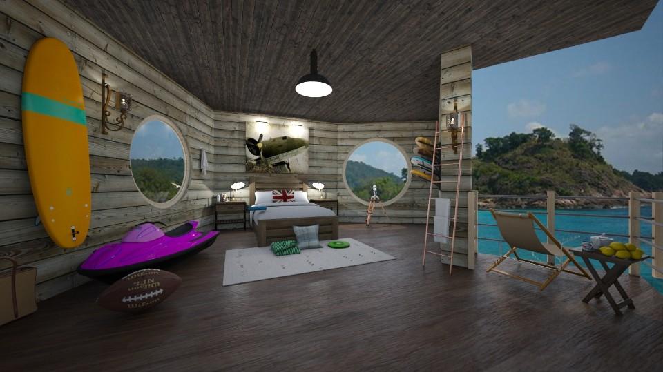 nautical bedroom - by Spencer Reid