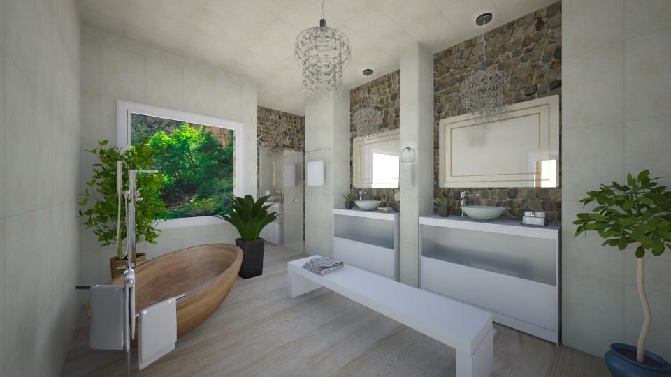 Banheiro Azius - Bathroom - by Natt Vasconcelos