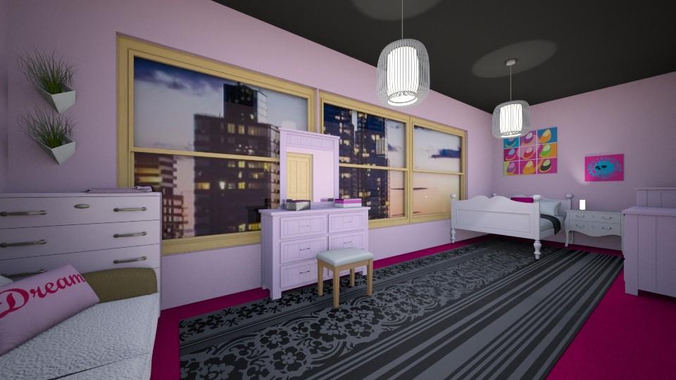 girly bedroom - Modern - Bedroom - by secret_girl91