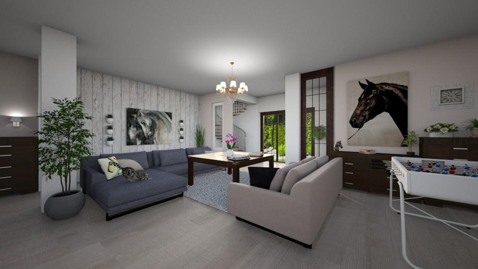 big salon - Modern - Living room - by nati321