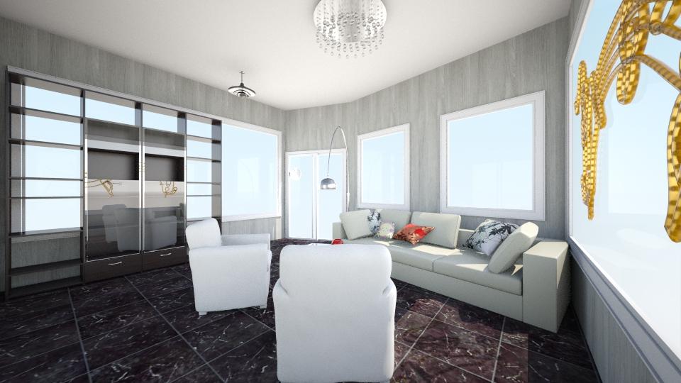 The new livingroom kind - Living room - by Dasha Chukalovskaya