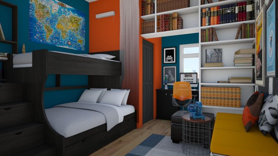 boys room - Bedroom - by dianemonton11