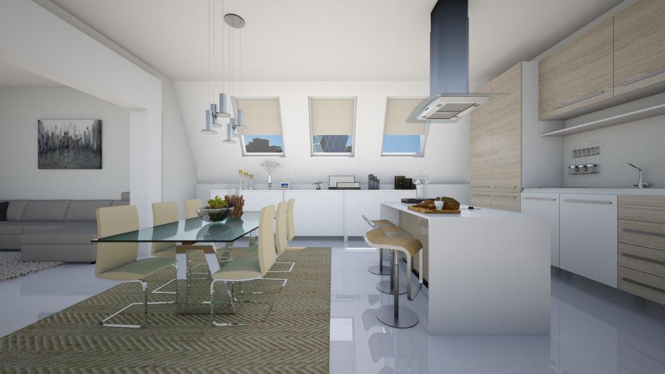 modern kitchen - by ANAAPRIL