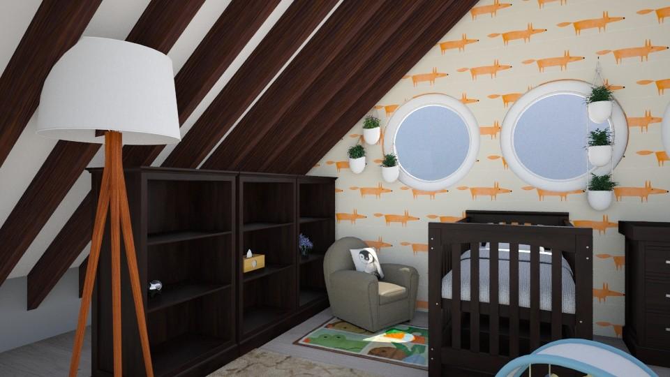 Nursery - Modern - Kids room - by stokeshannah