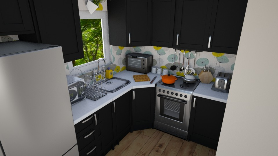 kitchen - Modern - Kitchen - by lyzzystardust