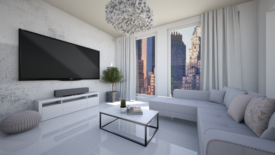 Modern Apartment - Living room - by ab1300
