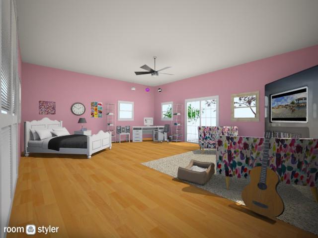 teens room - Bedroom - by mbickel