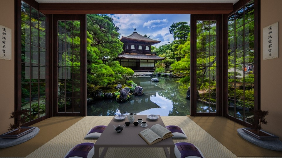 House in Japan - by Faby_89_
