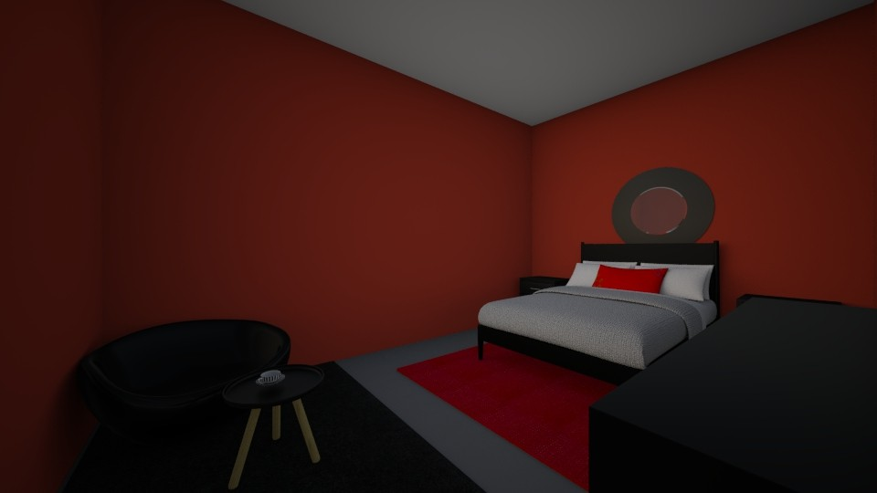 Vampire Bedroom - Bedroom - by Winner168