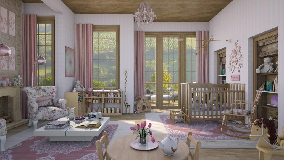 Design 338 Pretty in Pink Nursery - by Daisy320