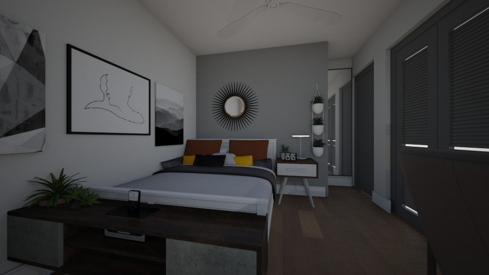 Elizabeth G Roy - Bedroom - by elizabeth_gr00
