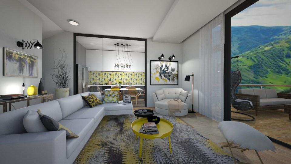discret yellow - by bsk Interiordesign