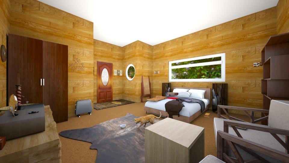 walnut - Bedroom - by zainizaheer
