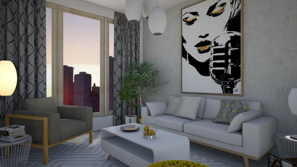 grey - Modern - Living room - by Anseva