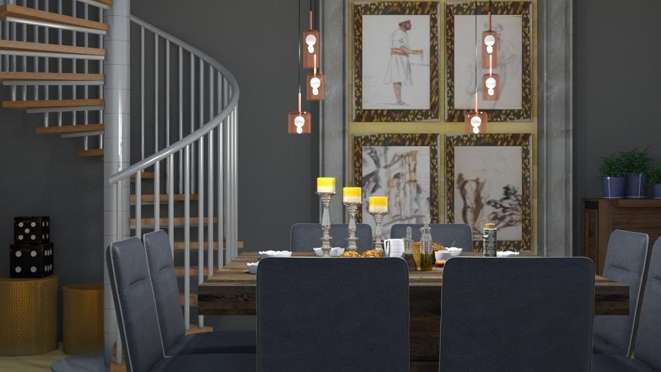 Dining In - Modern - Dining room - by XiraFizade