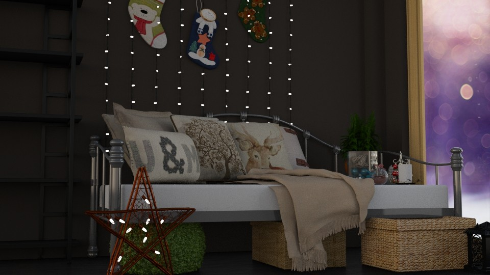 Christmas Magic - Rustic - Bedroom - by LucasMucus