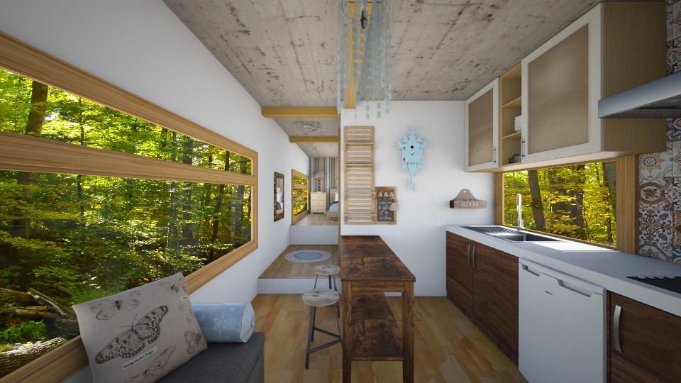 Tiny House2 - by Isabella_Palmeri