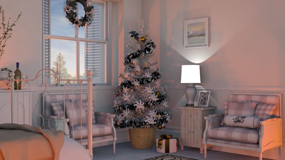 Christmas bedroom - by barnigondi