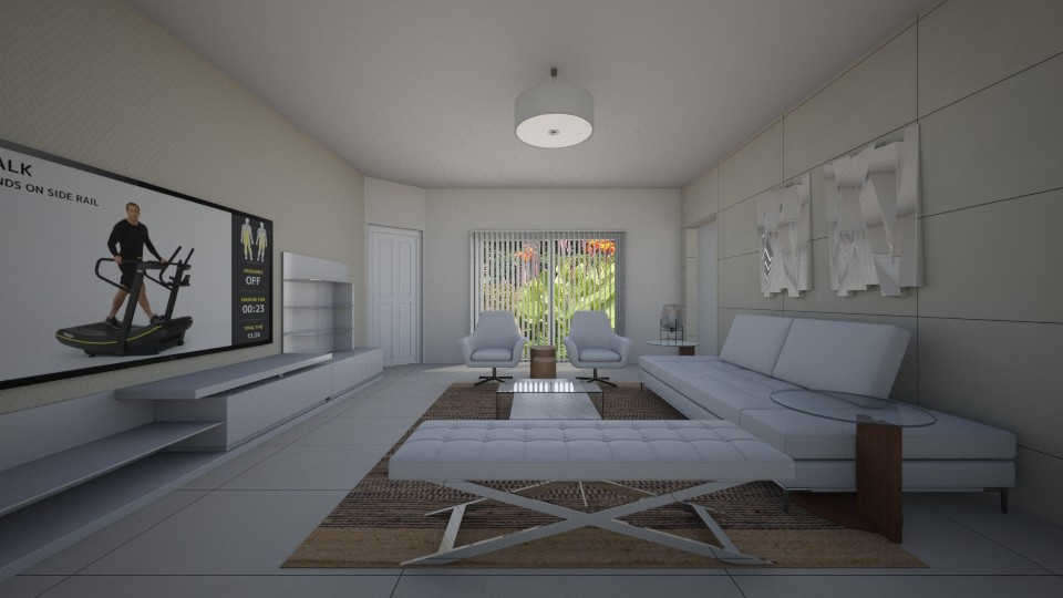 Sarasota - Minimal - Living room - by Daisy de Arias