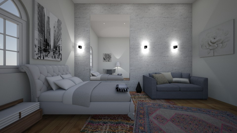 Bohemian guest room Adin - Bedroom - by kapetanovica23