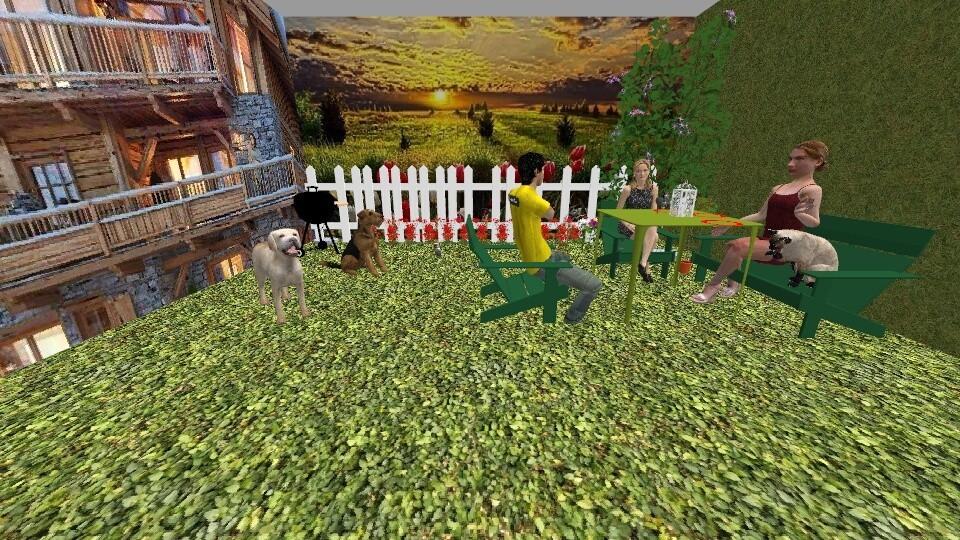 garden - Garden - by Deni star