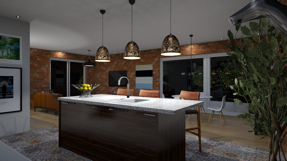 Small Apartment Modern Kitchen By Gianni Vancompernolle