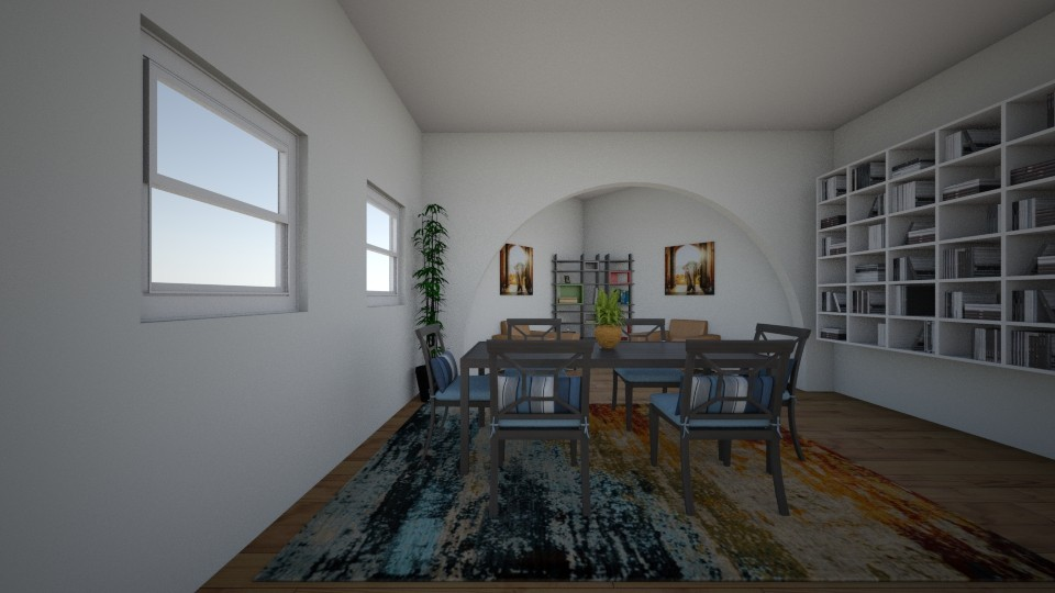 dining room - Modern - Living room - by Anna_be