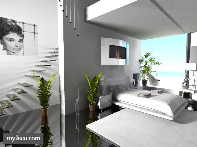 Loft bedroom - Modern - Bedroom - by bitmadar1