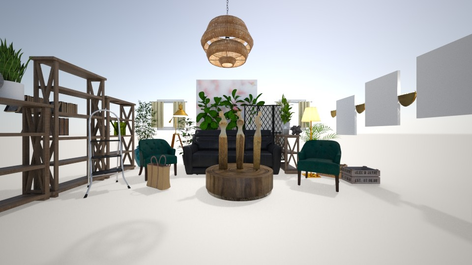 Modern - Living room - by LillyEb