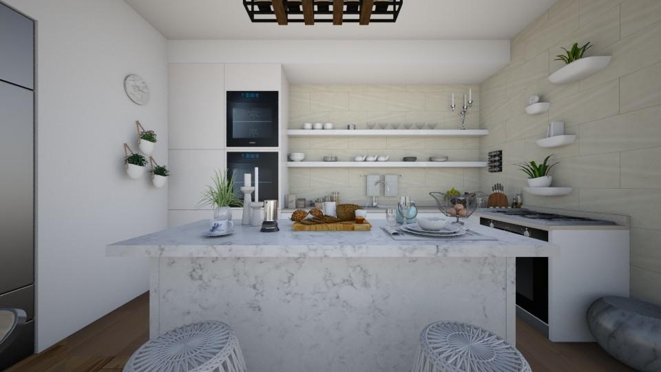 Project1 - Kitchen - by Glendyx