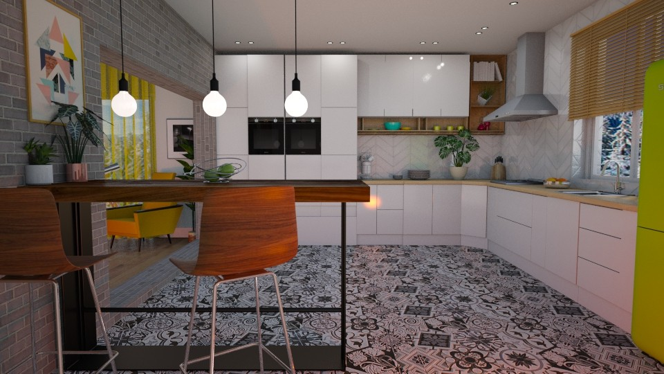 Scandinavian style - Kitchen - by snjeskasmjeska