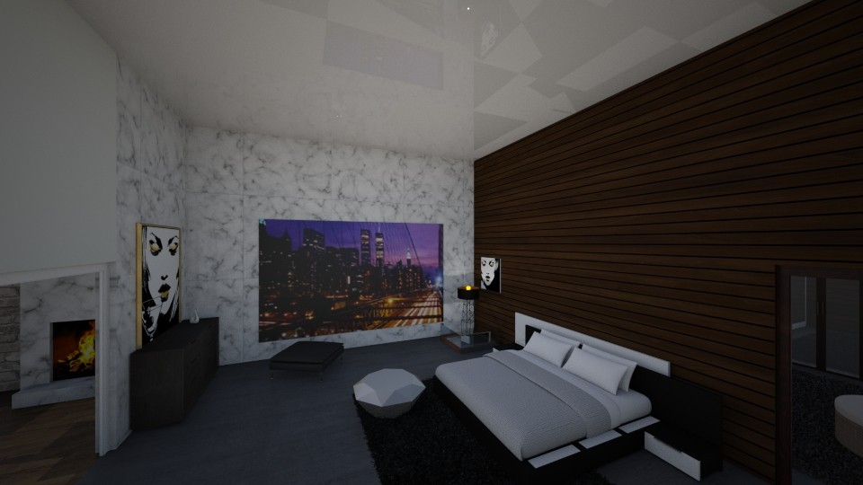 my dream bedroom - Modern - Bedroom - by bidgenious21