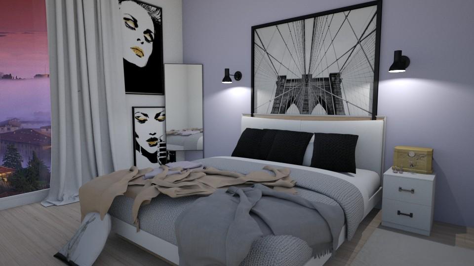 Cute and Simple Bedroom - Bedroom - by delaaaaney