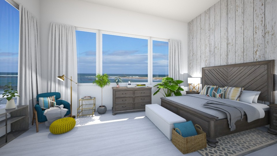 modern beach house - Classic - Bedroom - by Ali Ruth