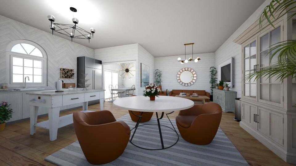 modernk - Kitchen - by dena15