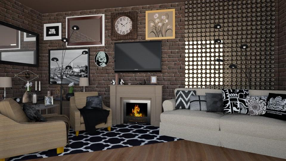 Century Warmth Pr 10 - Living room - by VermontianRain
