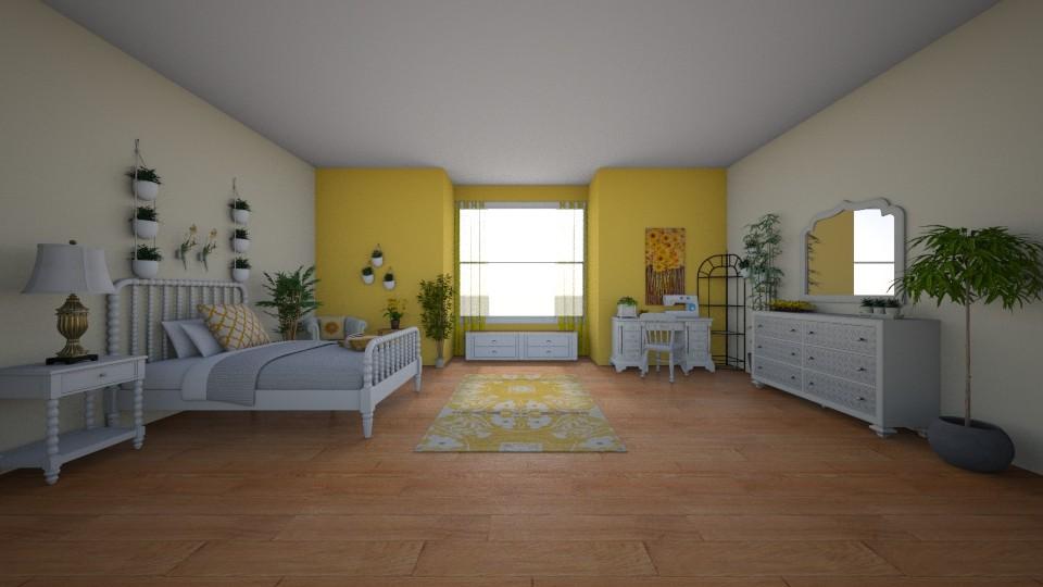 papillon  - Bedroom - by Piper Nader