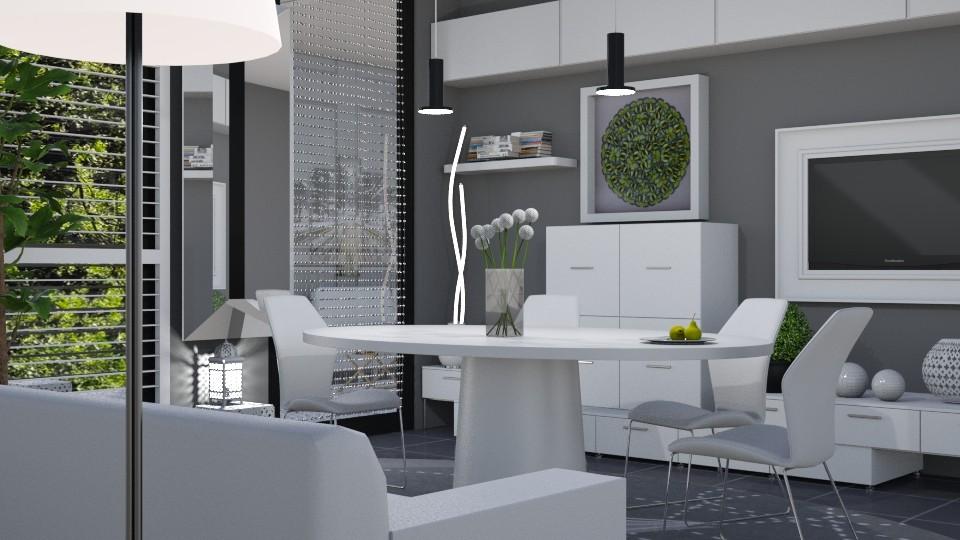 M_Modern dining - by milyca8