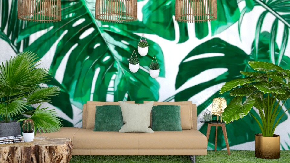Living in the Jungle  - Modern - Living room - by Ellie665